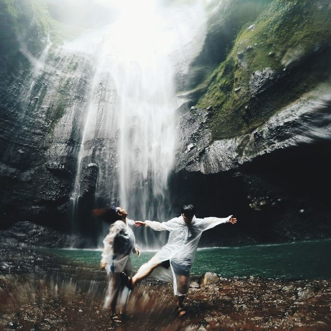 Feel the freshness at Blawan waterfallPeople And Places Blawan Waterfall