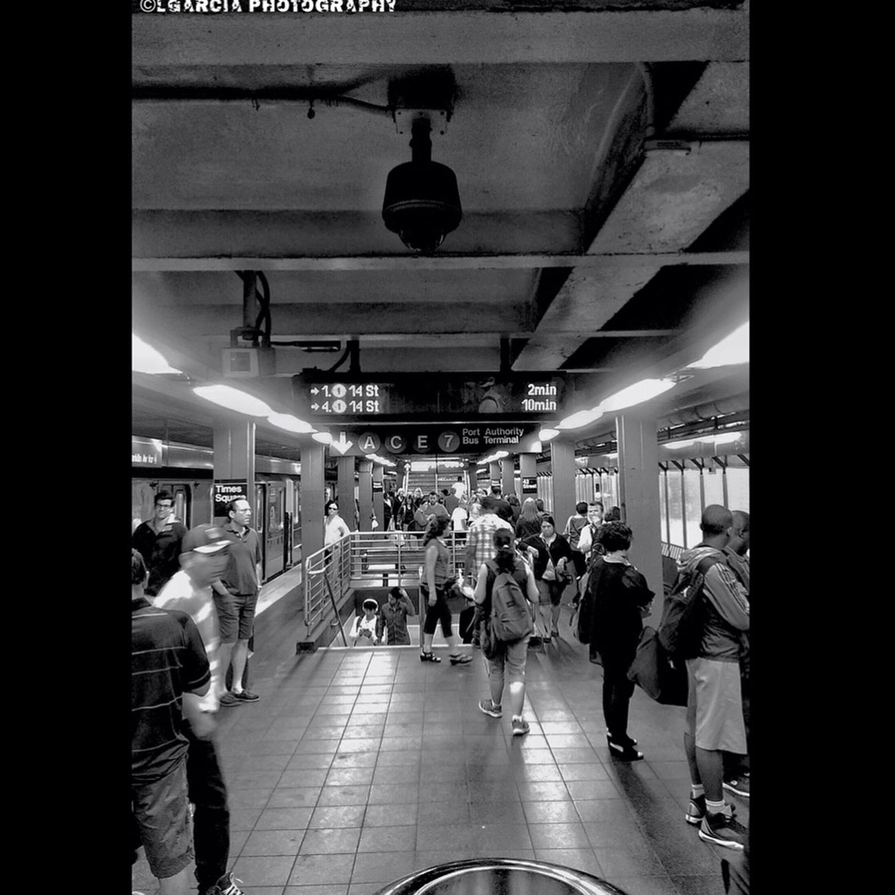 Subway is a way of life. Architecture Lines, Shapes And Curves Blackandwhite Photography LGarciaPhotography New York Iphonephotography Monochrome NYC Photography Street Photography IPhone