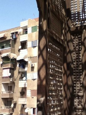 Old and new at cairo by NAR