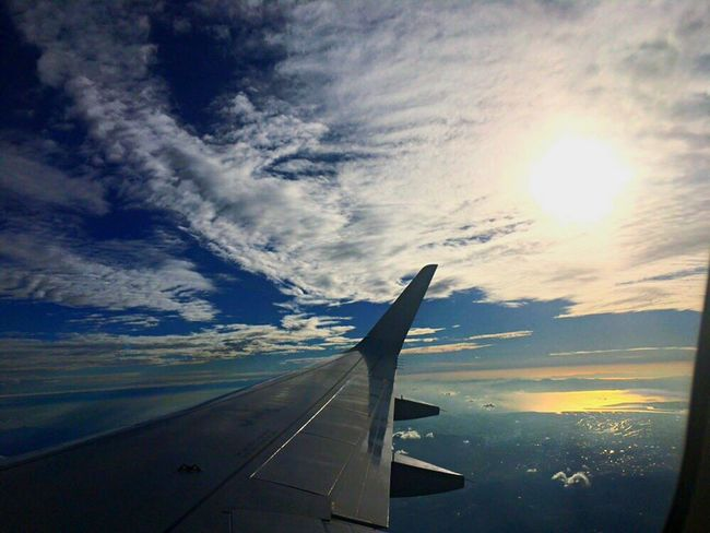 It was beautiful sky during fright FUK ✈︎ HND. Airplane Transportation Sunlight Aircraft Wing Cloud - Sky Air Vehicle Outdoors Nature Beauty In Nature Sky Sky And Clouds Beautiful Sky And Clouds Fright In The Sky Fukuoka,Japan Tokyo,Japan FUK Hnd Ana SFJ All Nippon Airways Star Flyer