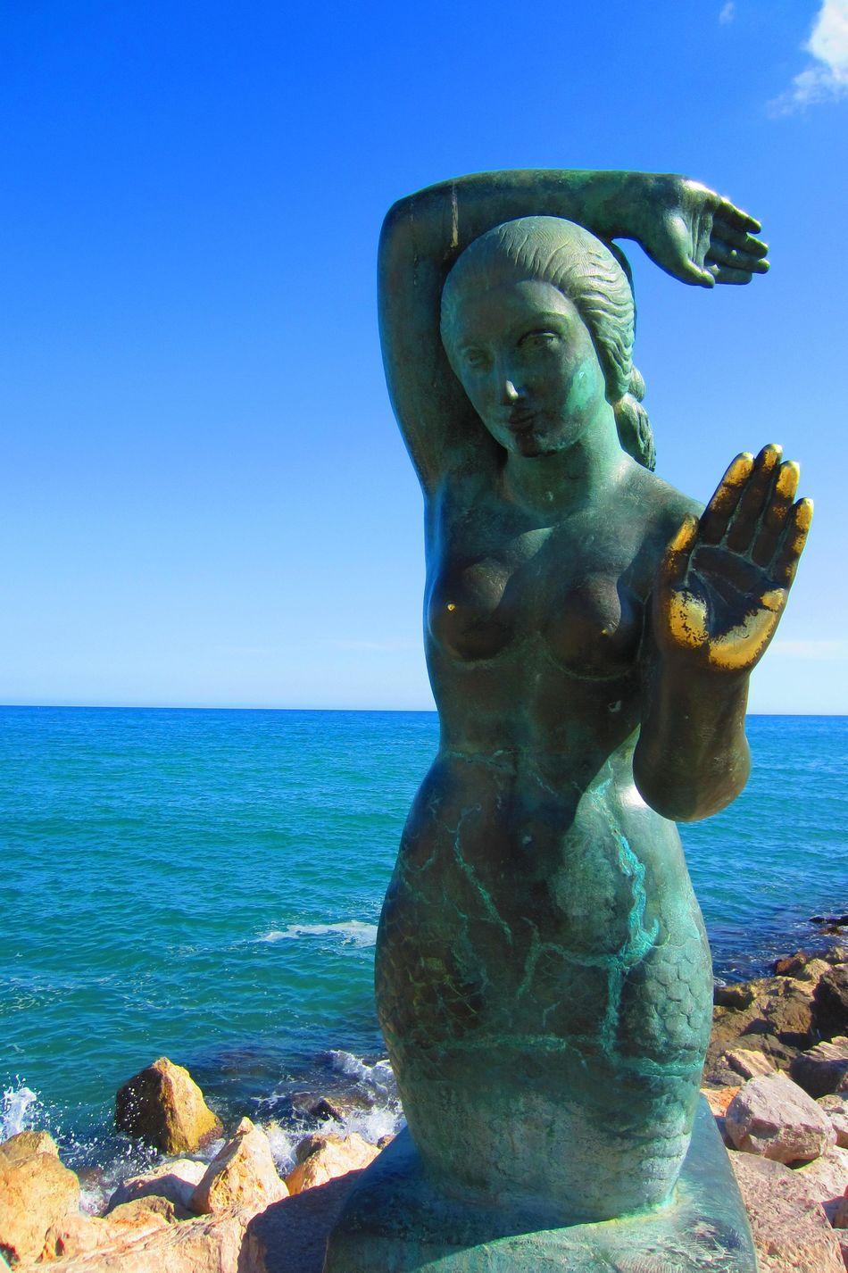 Beautiful stock photos of nude, Art, Art And Craft, Beach, Blue