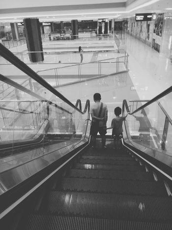 Journey Wandered Experience Delight  Lightandshadow Escalator EyeEm Best Shots EyeEm Best Shots - Black + White