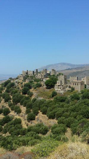 Messini Castle Castle No People Cactus Landscape Outdoors Day Nature Sky