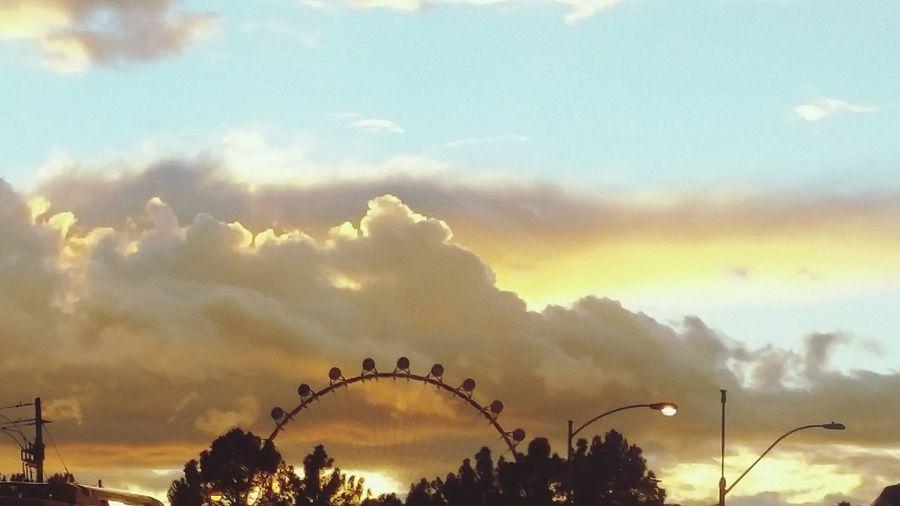Linq TheLinq Vegas  Las Vegas Clouds Sky