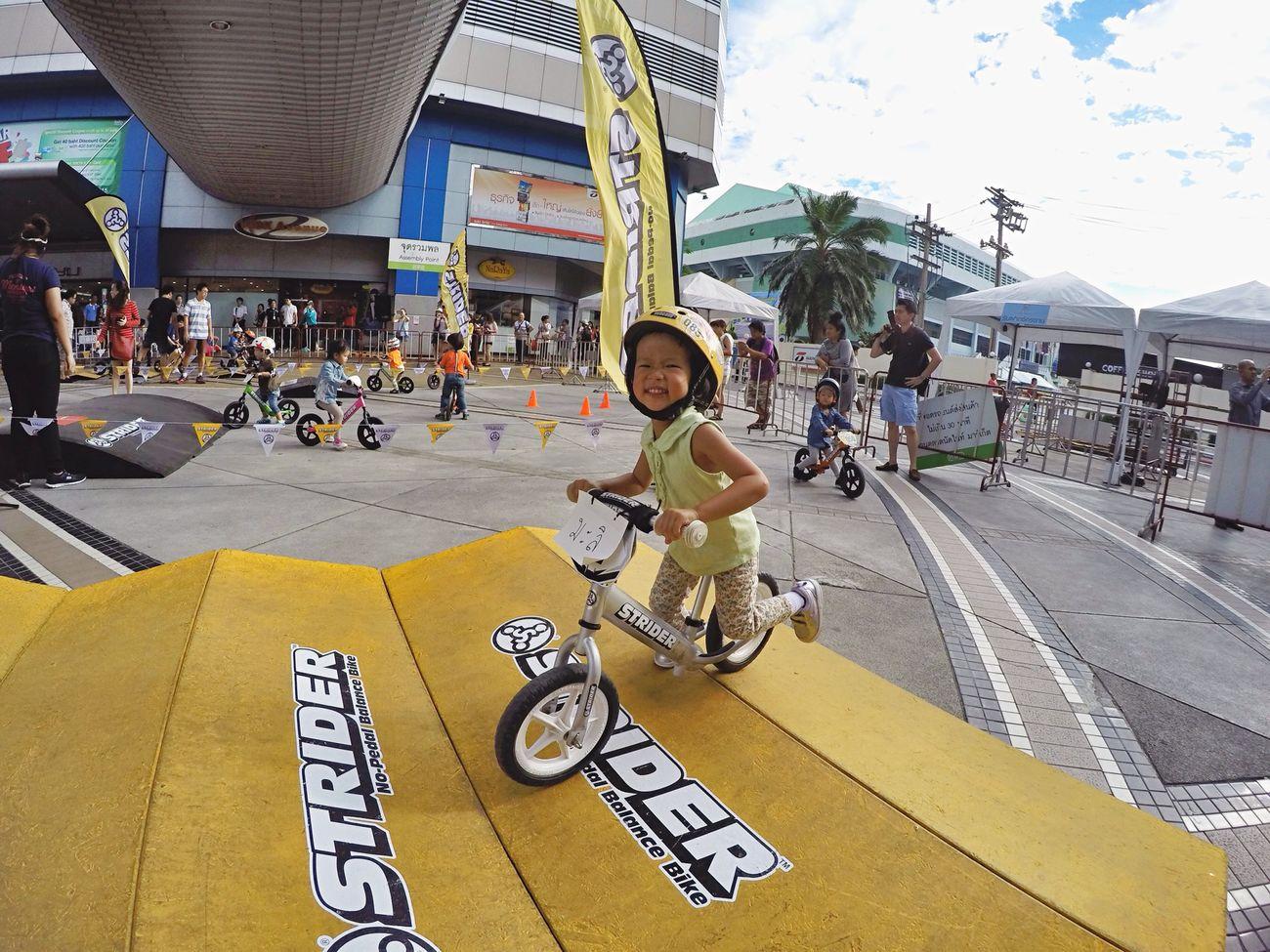 Marisa   June 21, 2015. Everyday Lives Everyday Joy Malidiary StrideOn Humanride Gopro GoPrography EyeEm Bangkok Open Edit