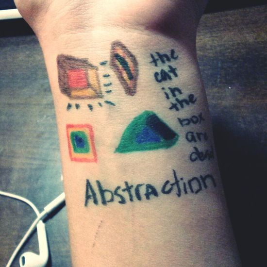 how about abstraction?