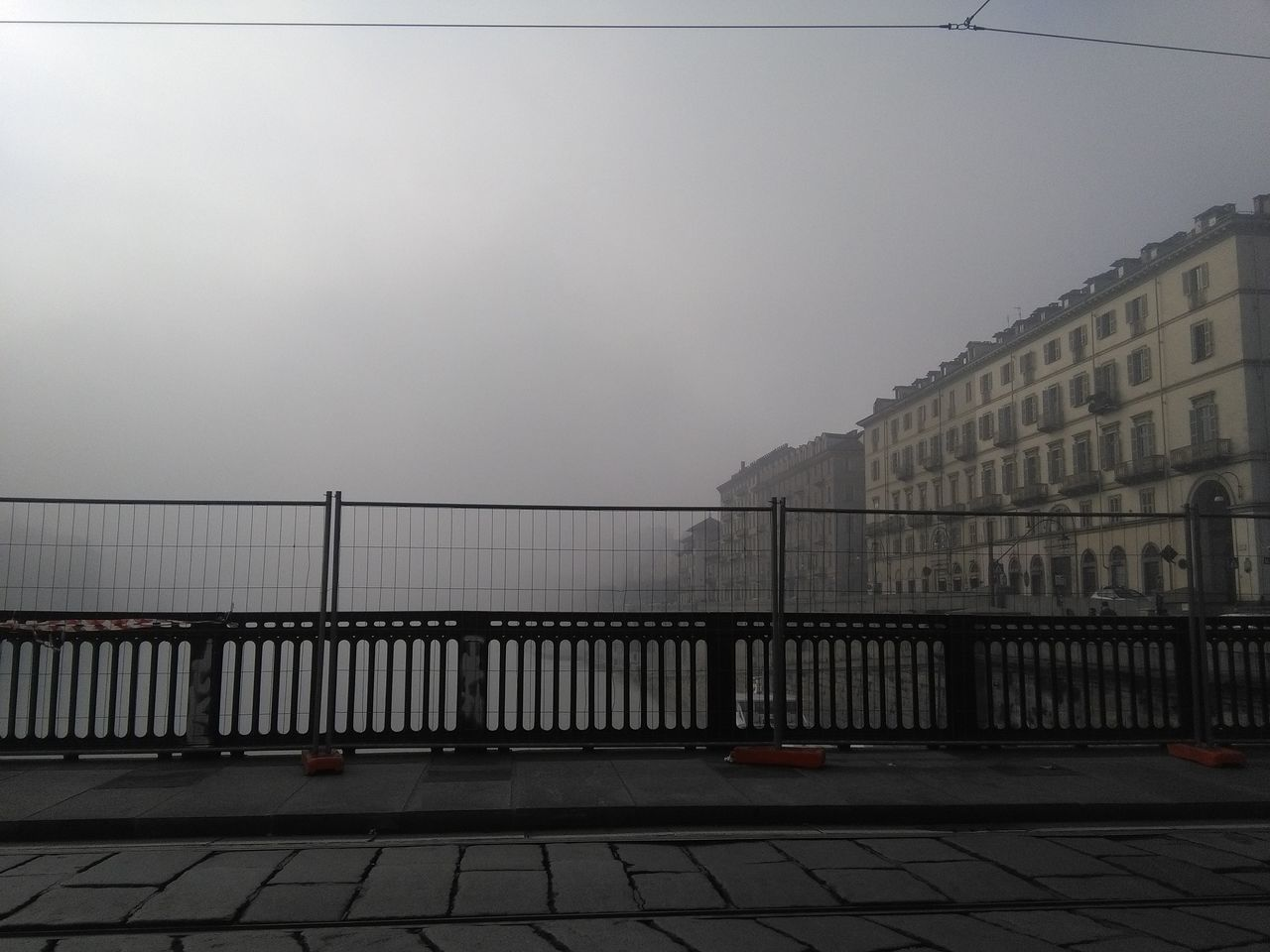 City Life Bridge Photography Turinstagram Torino Italy Nebbia A Torino