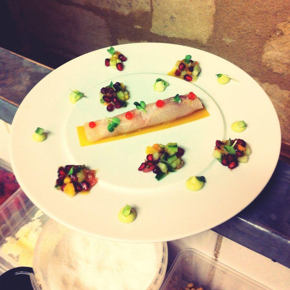 Carpaccio de daurade et sa salade exotique ! First Eyeem Photo