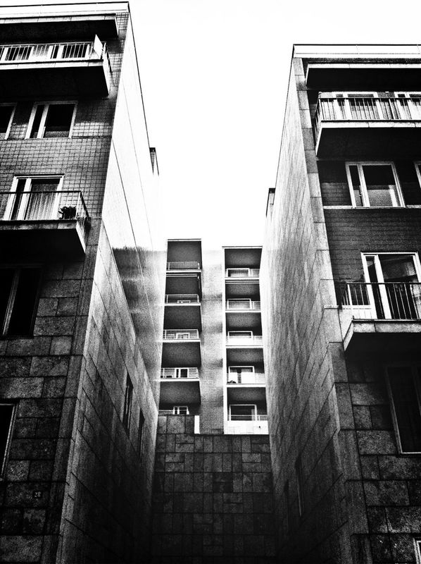 architectural detail buildings urban landscape pretoebranco by Cláudio Ribeiro