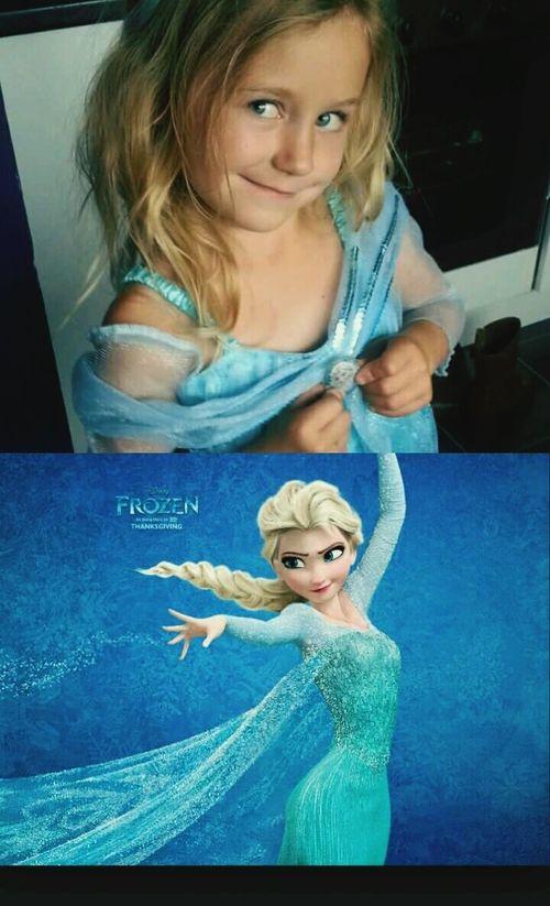 Ruby Princess ♥ Elsa♡ Frozen Lookatherface Justlikeelsas♡