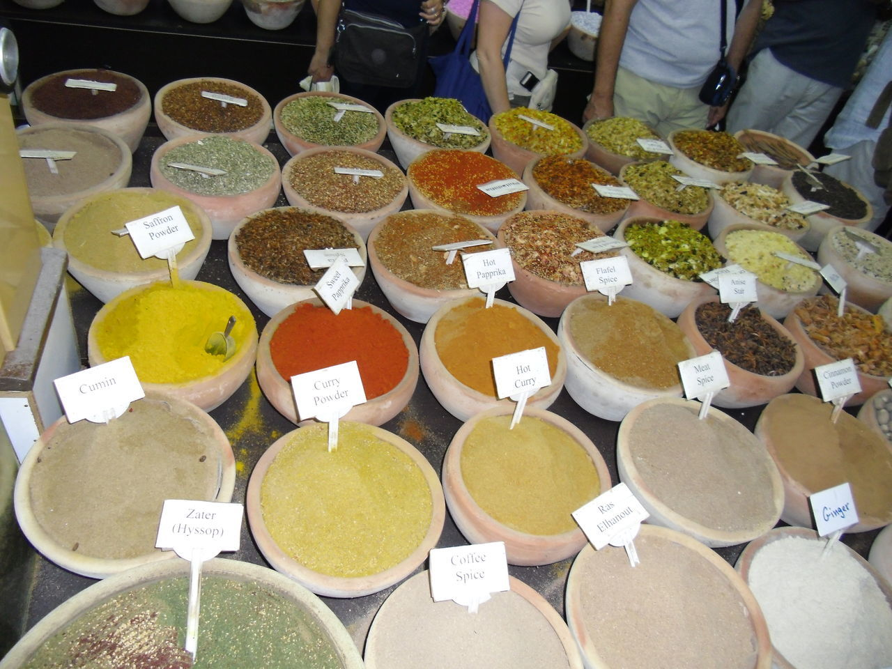 Food Food And Drink Israele Spezie Del Mondo Spices Venditore Ambulante