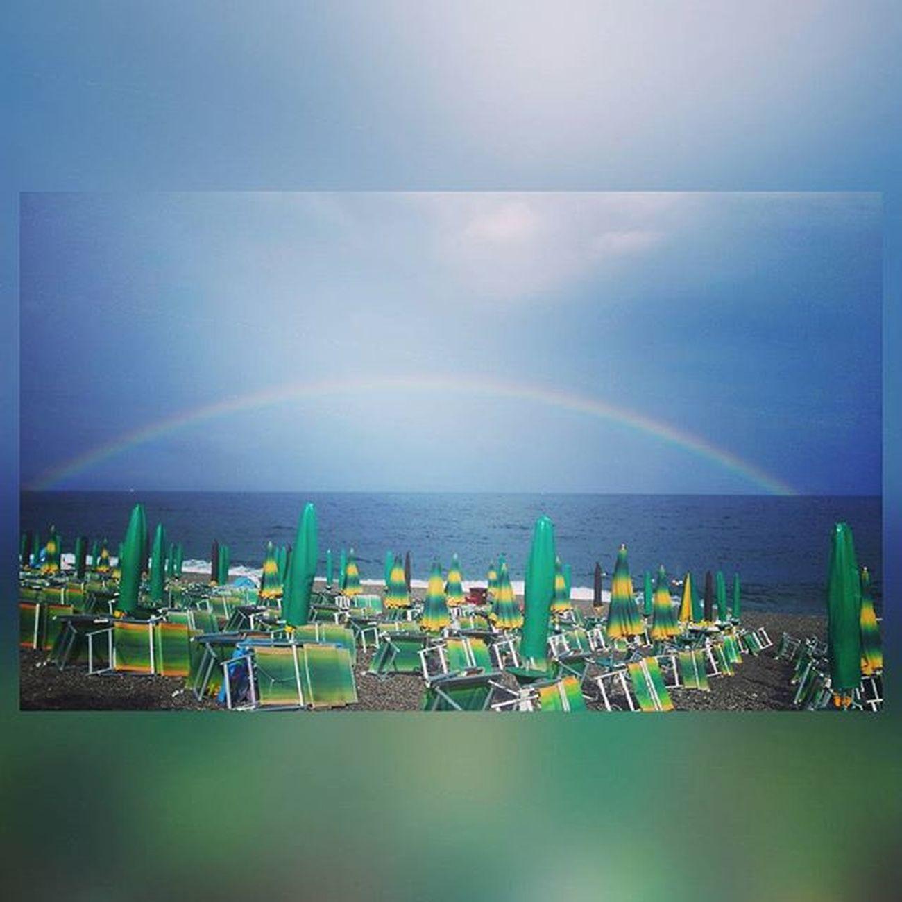 Fondachello Sicilia Sicily Mare Sea Arcobaleno  Rainbow Rainbows Cool Style Instagramers Instagood Follow4follow Like4like Ciaone EDC Edm Summer2015