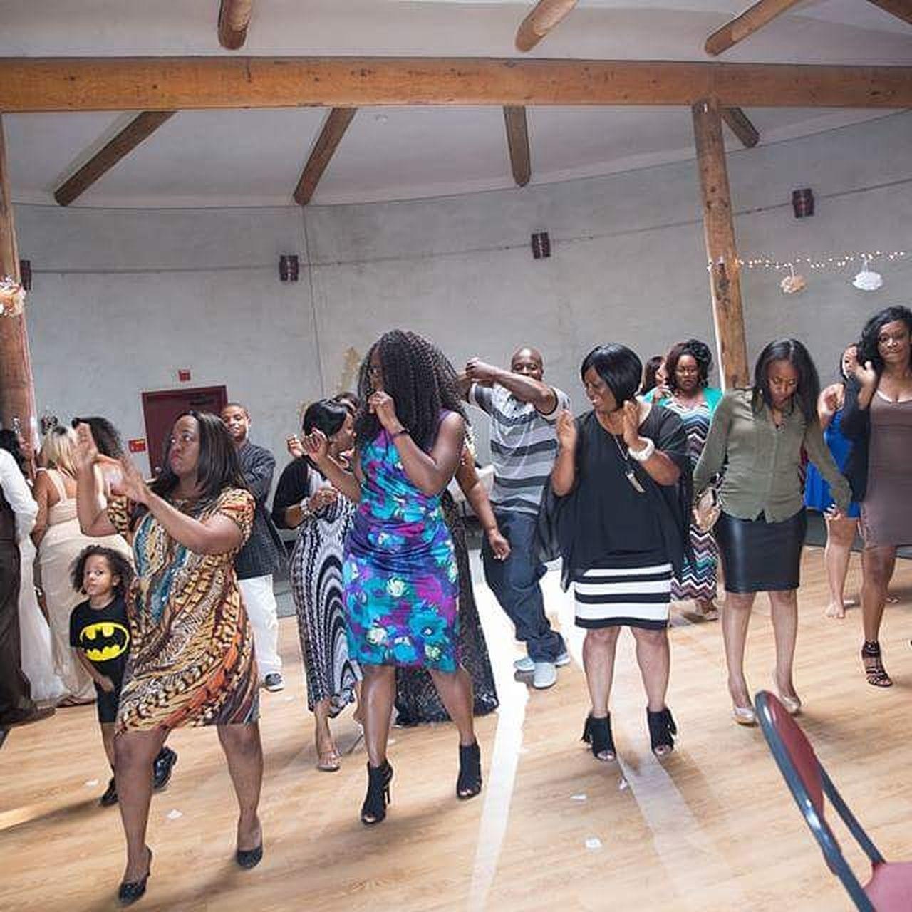 Dancing Fun Indoors  Medium Group Of People