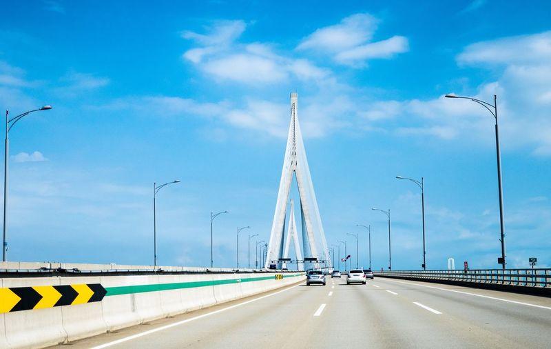 EyeEm Selects Transportation Sky Road Cloud - Sky Blue The Way Forward No People Architecture Bridge The Week On EyeEm