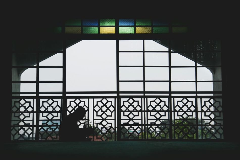 Architecture Window Indoors  Built Structure No People Security Bar Sky Day Islamic Architecture Islamic Art Islamic Mosque Architecture Mosque Praying Prayers AlQuran Ramadhan