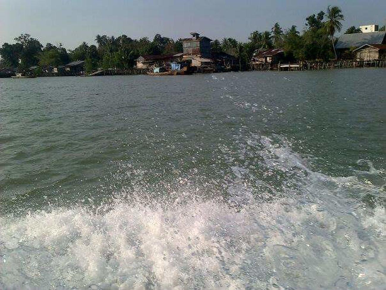 Speedboat River River View Water Village Rupatisland