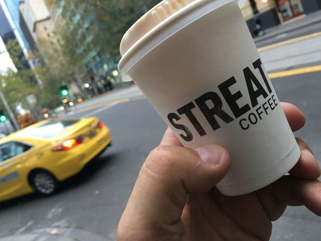Coffee Caffeine Melbourne Morningcoffee Taxi Cab Monday Coffecup