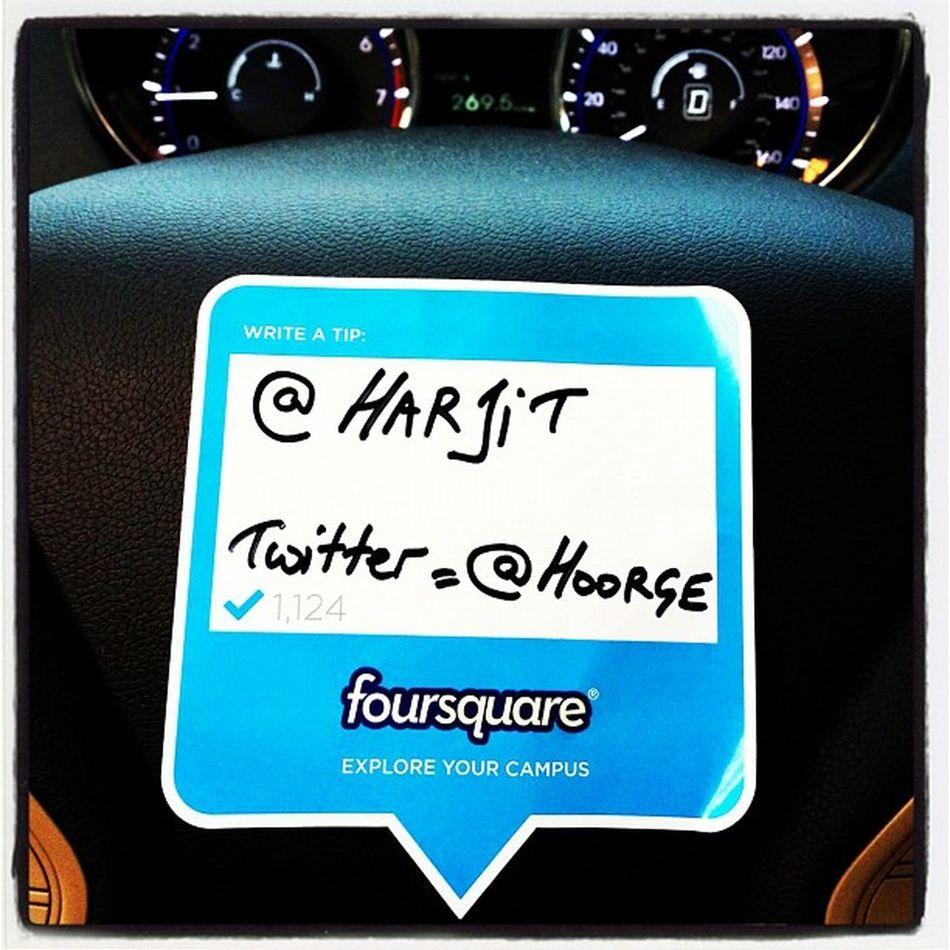 Foursquare Day Badge at #btv #4sqday meetup! foursquare Btv 802 Party Rira Friends Social_media Meetup Fun Social 4sqDay Vermont Badge Mayor Socialmedia Foursquare 4sq Checkin Vt