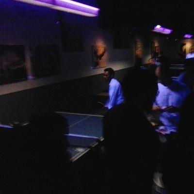 At spin in Toronto Pingpong Nightclub Kingwest