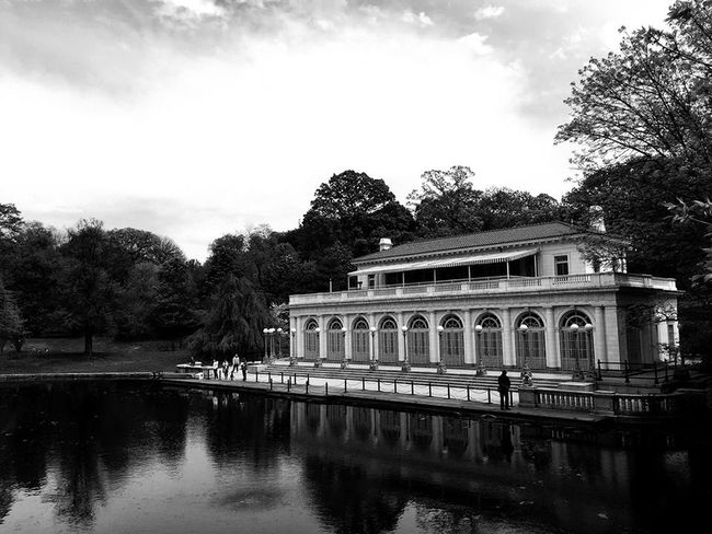 Architecture Brooklyn Building Exterior Pond Prospect Park Prospect Park Boat House Reflection Tourism Travel Water Waterfront