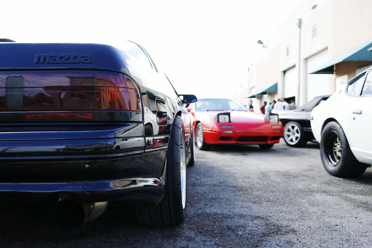 Slick is life Radials Mazda Nissan ClassicJDM Rx7 Datsun