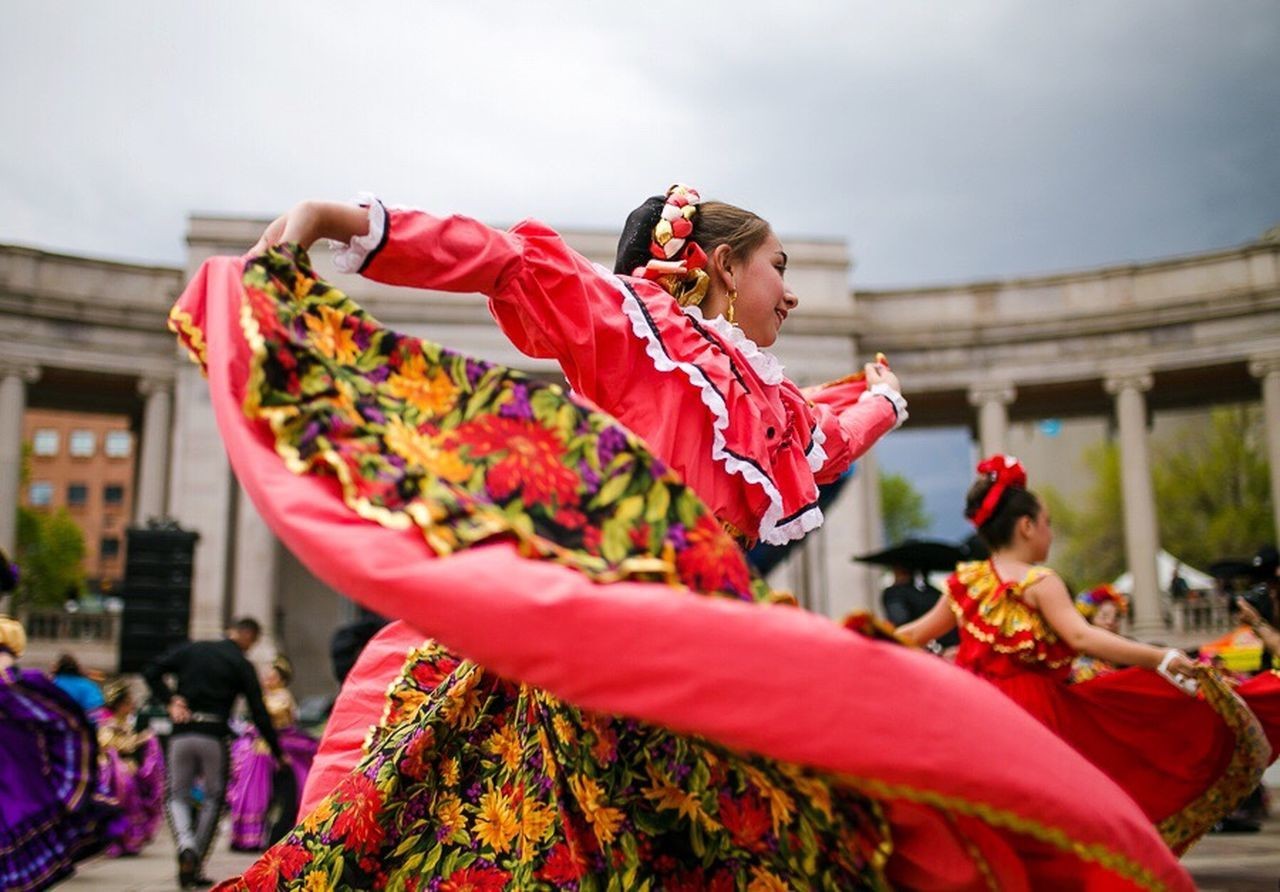 Performance Cultures Latin Latina Festival Cinco De Mayo Dance Dancing Girl Red Music Women Performing Arts Event Traditional Dancing People Mexico Colorful Celebration One Person People Photography