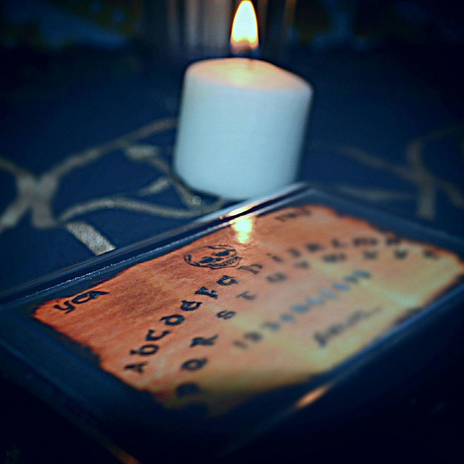 OutLaw Magic Dreamer Artist Production Ouija Ouija Board  Candle Candle Light