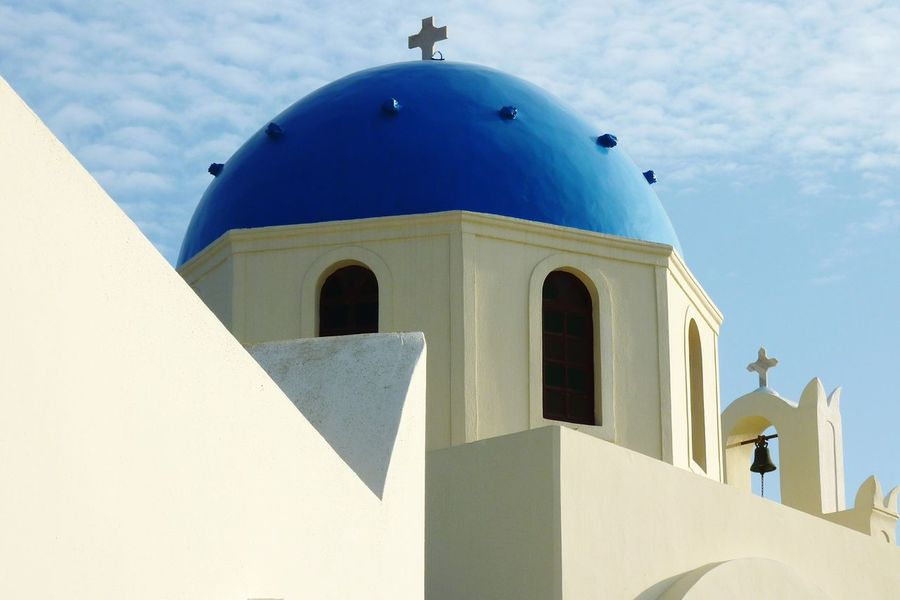 Architecture Built Structure Travel Destinations Building Exterior Arch Bell Tower - Tower History Greece