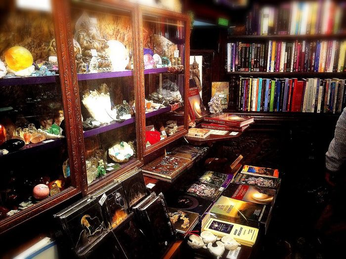 """Cute little Magicalplace Casting Spells AlchemyCollection In My Element🔮 beautiful little shop called """"The other world """" Books Crystalshop MysteryStreet Getting Inspired x"""