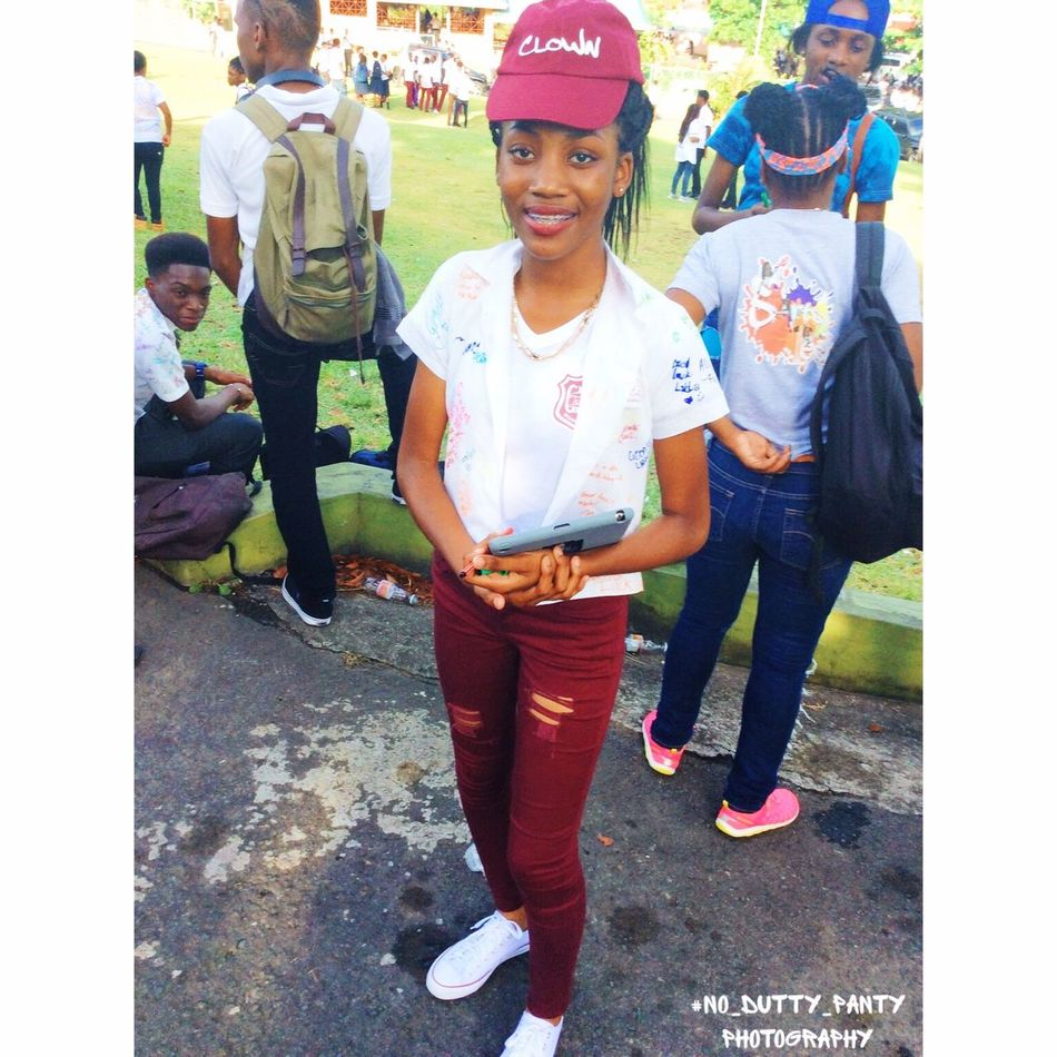 SVG Secondary School Graduated Classes 2k17 Sign Up . Real People Outdoors This Girl is So Ravishing 😍😍 Day