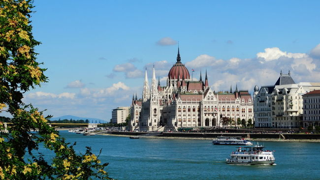Architecture Budapest City Danube River Danubio Europe Eurotrip Famous Place Hungary Parlament Parlament Budapest Budapeste Hungary Hungria Gold Student Studentexchangelife Tourism