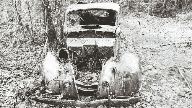 Black And White Photography Alaska Vintage Cars