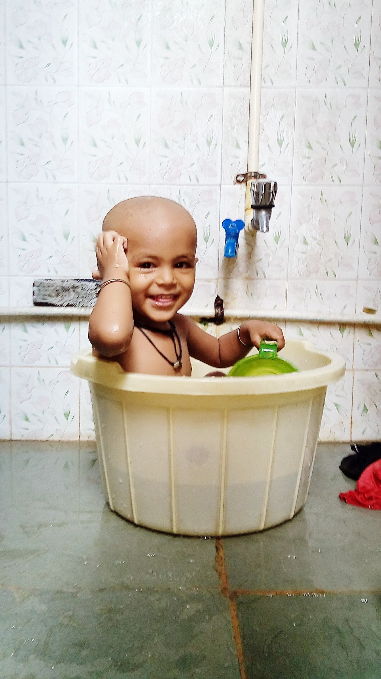A Child Always Love To Play In Bathtub😍😘😄!specially in summer 😊 EyeEmNewHere The Portraitist - 2017 EyeEm Awards Place Of Heart Live For The Story