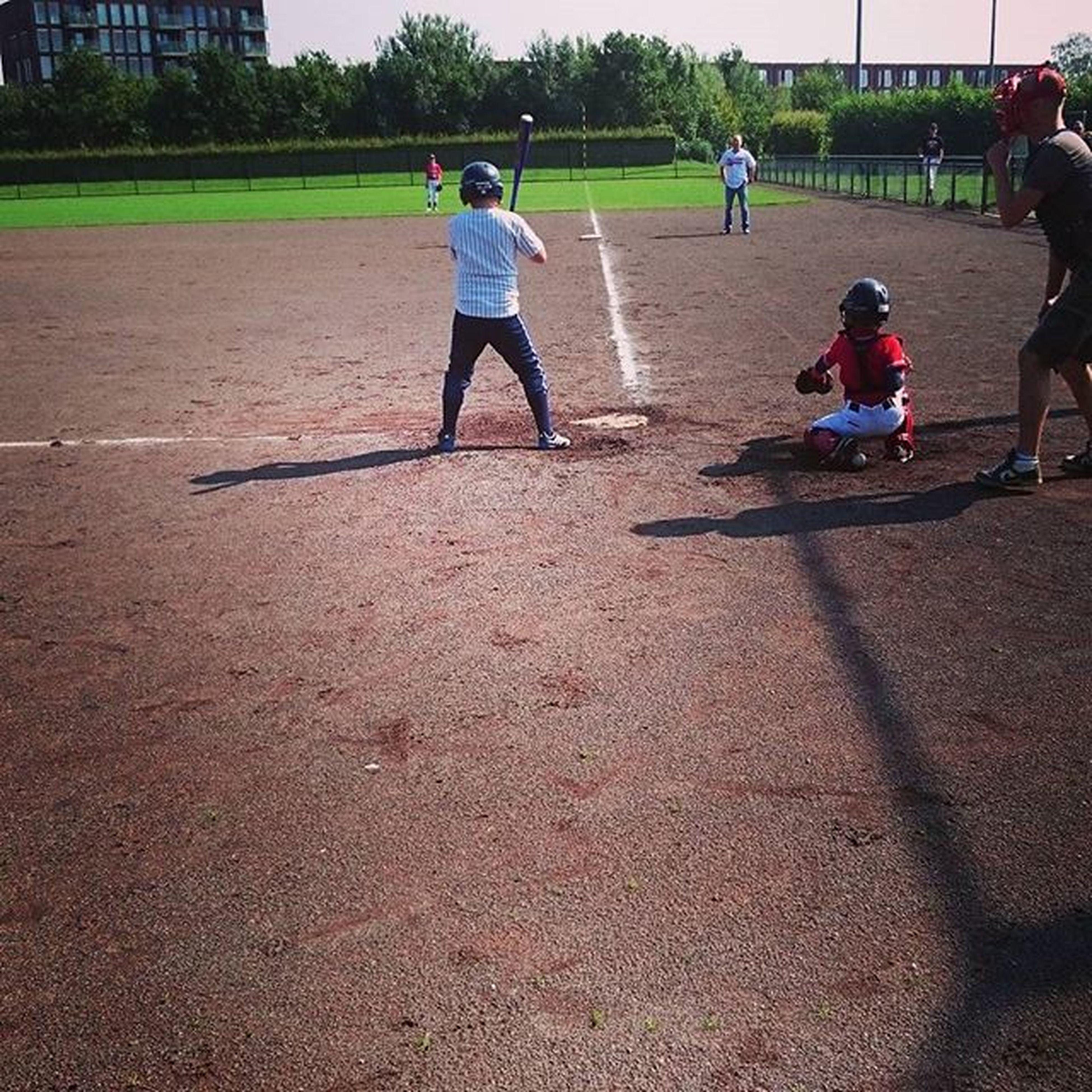 Baseball Firsthomerun Happy Sunday MyBoy Winningteam Letsplay ⚾