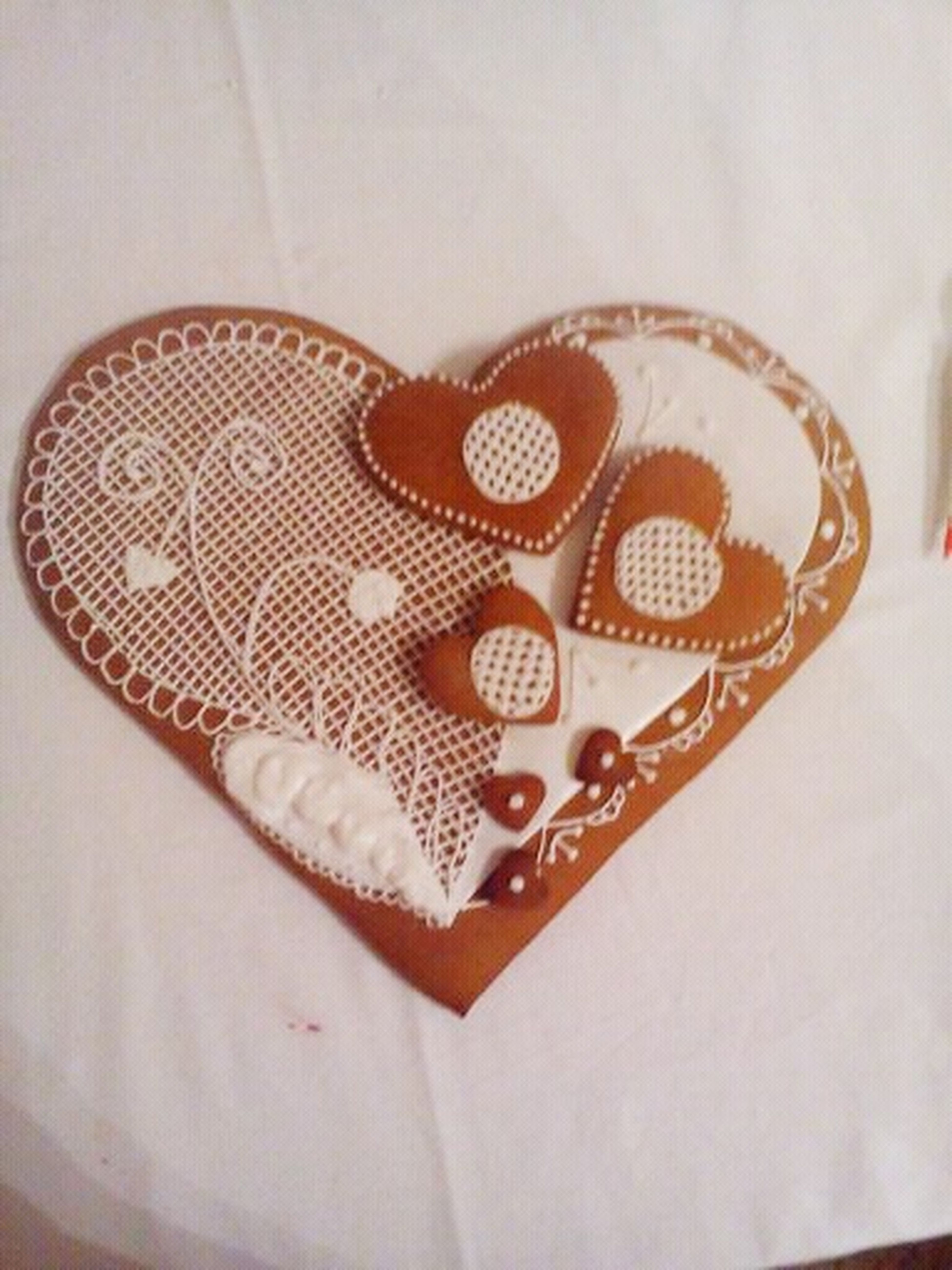 Sweet Gingerbread Heart for Happiness ♡ ...!