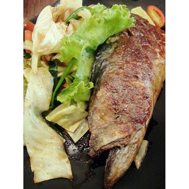 Grilled Mackerel(Saba) Steak Sushioo Mercuryville Chitlom Japanesefood