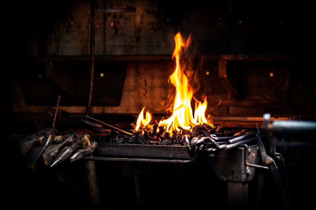 Beautiful stock photos of fire, Blacksmith, Burning, Day, Fire