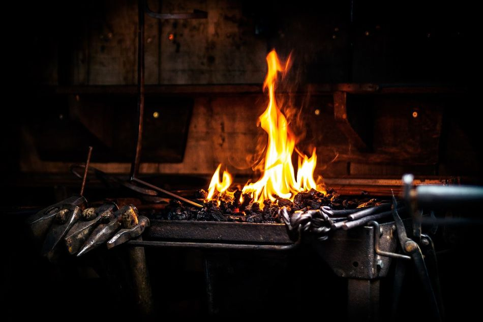 Beautiful stock photos of fire, Blacksmith, Burning, Day, Fire