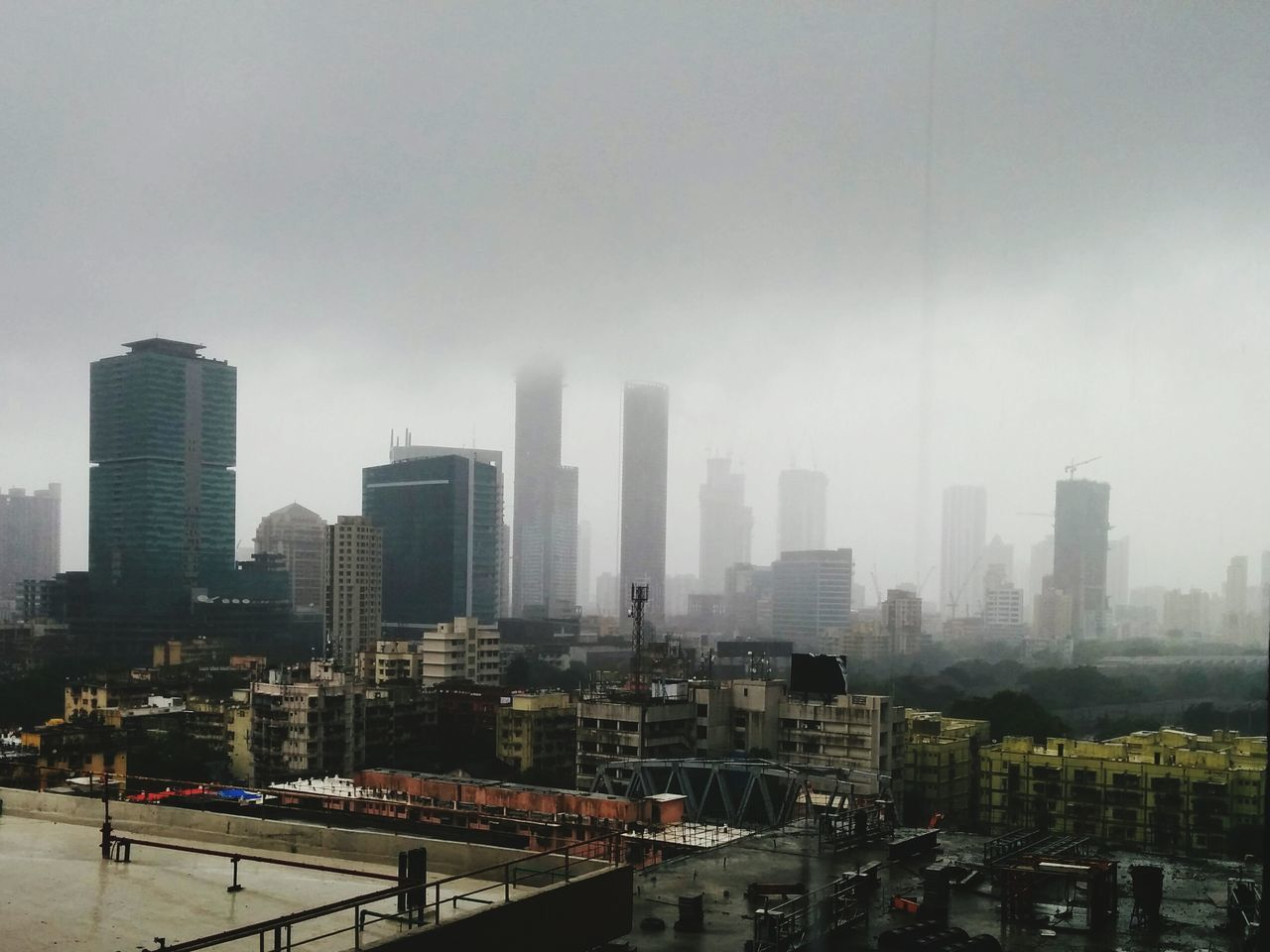 MumbaiDiaries Heavy Rain SkyFullofClouds Getting Dark