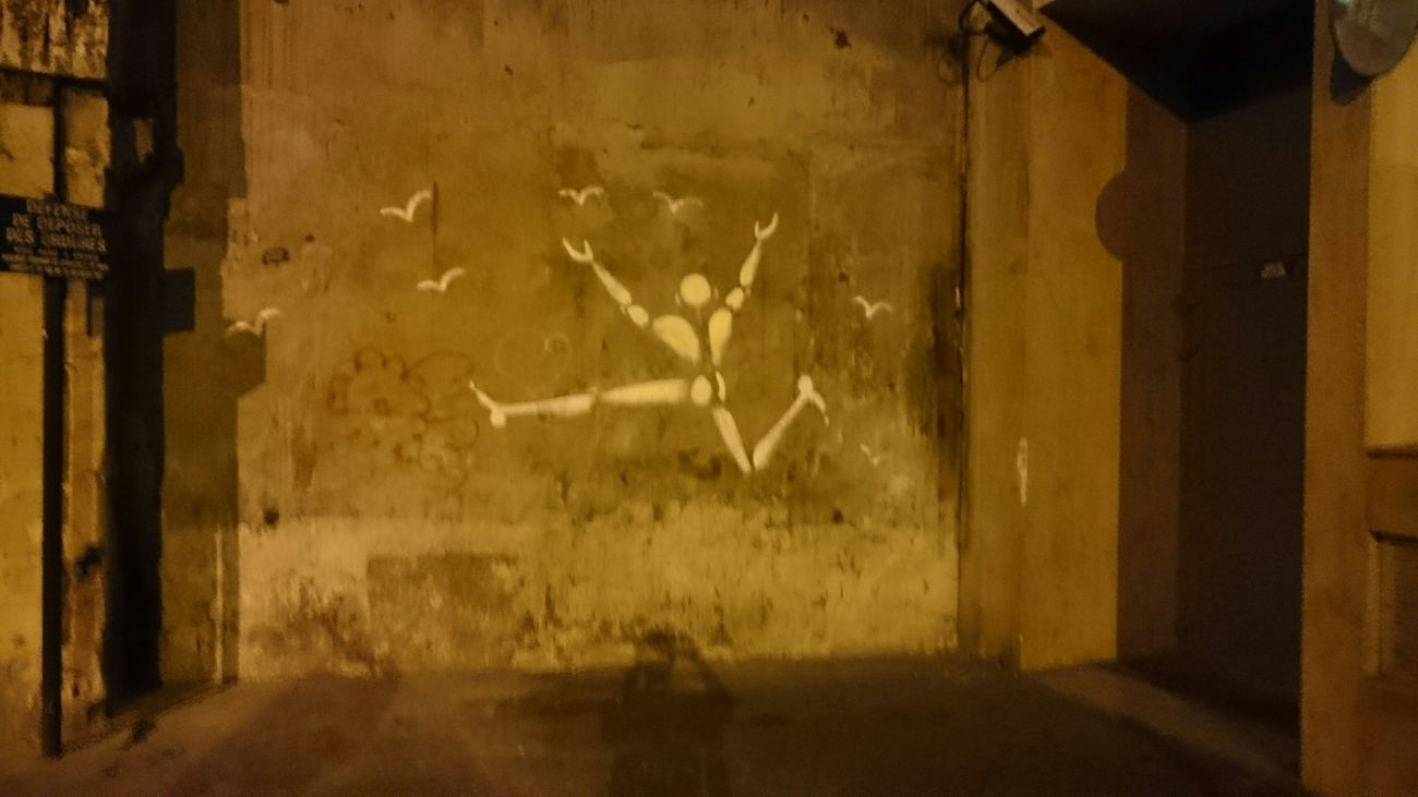 Jérôme Mesnager Ruebroca Paris, France  Street Art Streetphotography Paris Je T Aime