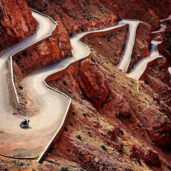 Morocco Marocaines Marrakech Route Maroc Lm3allem