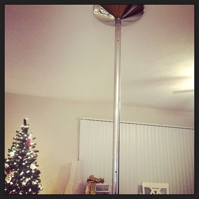 I might have a dance pole installed.. Notastripper Xpole Fun Fitness makeitrainonme brazzers