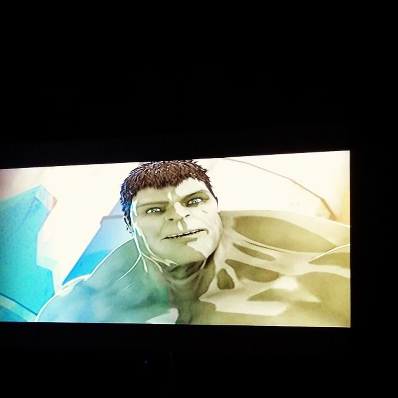 Watching a movie with Theincrediblehulk and Ironman on Netflix ....seems interesting...holla at yall later