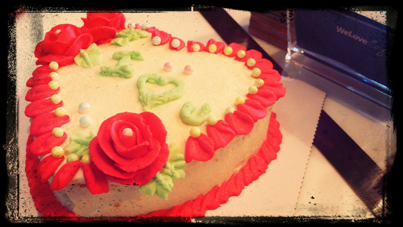 补送的生日蛋糕