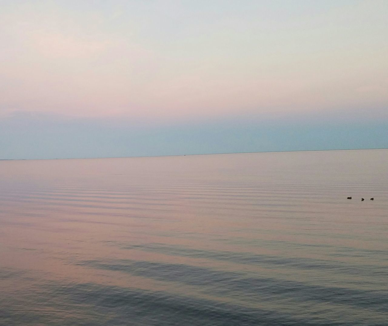 LakeMille Lacs Dusk On The Water Pastel Sky Calm Water Minnesota Lake Purple And Pink Sky Sky Reflected In Water