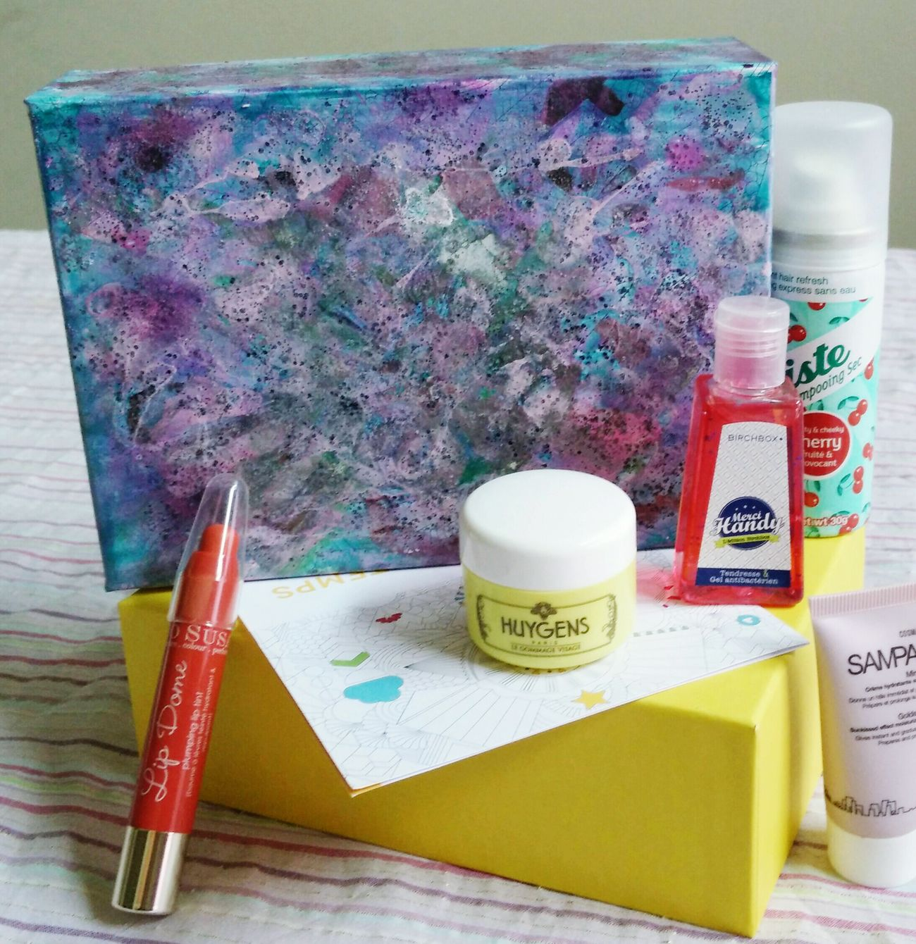 Box Birchbox Springtime Skincare Makeup Enjoying Life