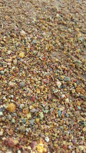 Hikerslife The Ground Below Pebbles And Stones Clayed Grounds