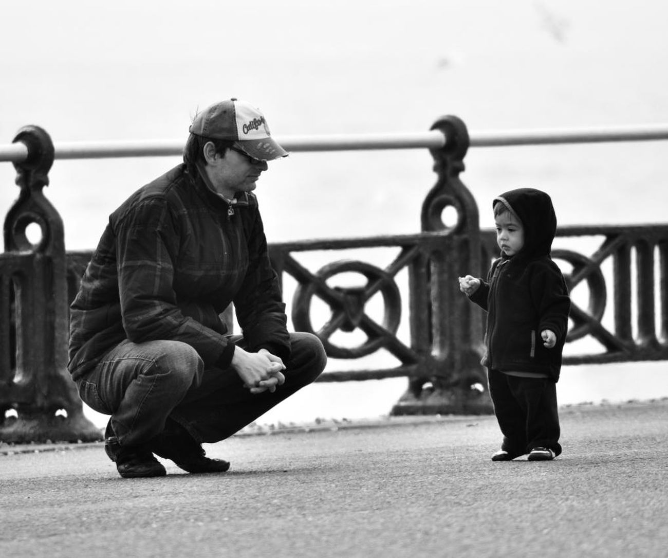 Streetphotography Father & Son Love Hanging Out Check This Out Enjoying Life The Street Photographer - 2016 EyeEm Awards