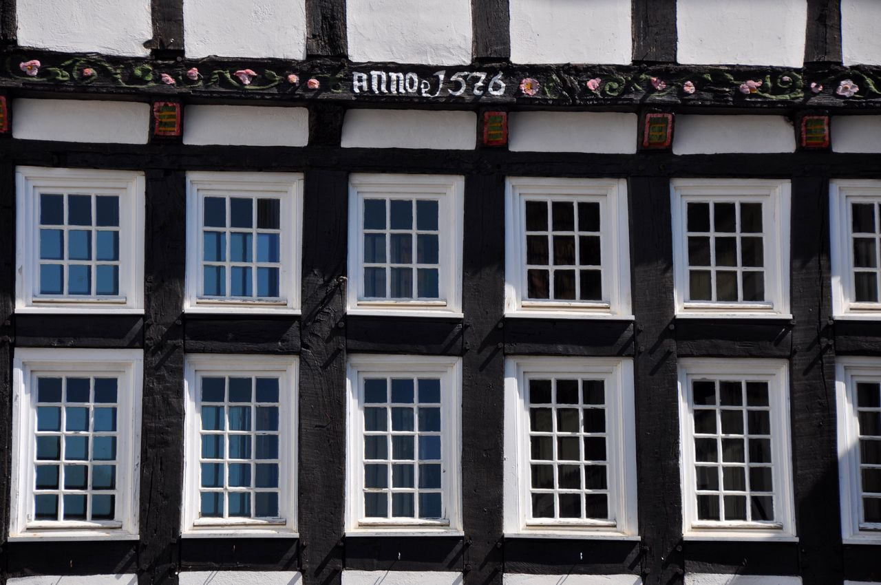 Façade Generic Architecture Germany Half-timbered House Window No People Architecture Built Structure Building Exterior Day Outdoors
