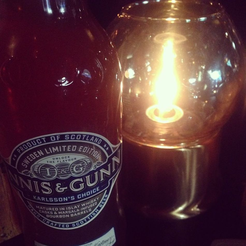 Innis and Gunn Karlsson's choice. Beer Ale Innisandgunn